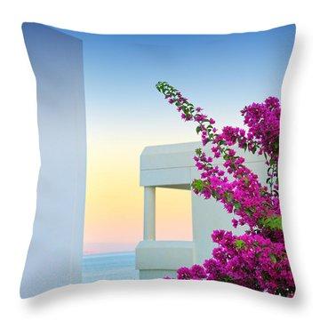 Greece 3  Throw Pillow