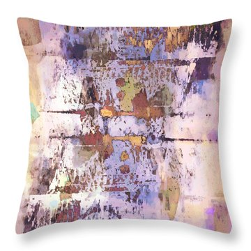 Grungy Abstract  Throw Pillow