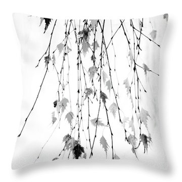 Throw Pillow featuring the photograph Hanging by Rebecca Cozart