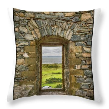 Harlech View Throw Pillow