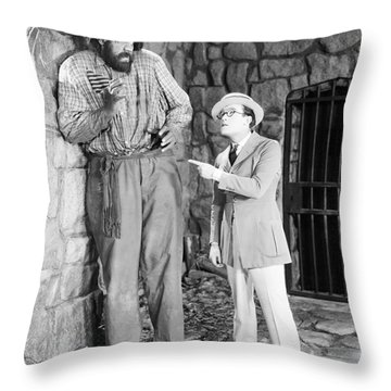 Harold Lloyd (1889-1971) Throw Pillow by Granger