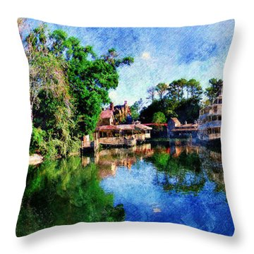 Harper's Mill Throw Pillow
