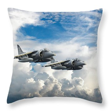 Harriers Throw Pillow