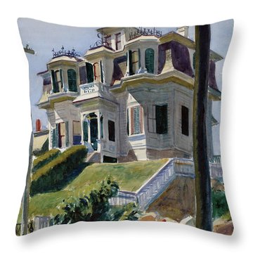 Haskell's House Throw Pillow