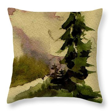 He Restores My Soul Throw Pillow by Anne Duke