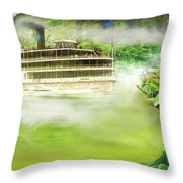 Heart Of Darkness Throw Pillow by Michael Cleere