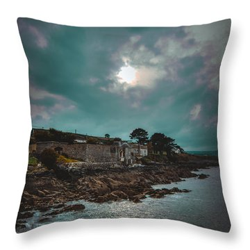 Helvick House 2 Throw Pillow