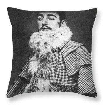Henri De Toulouse-lautrec Throw Pillow by Granger
