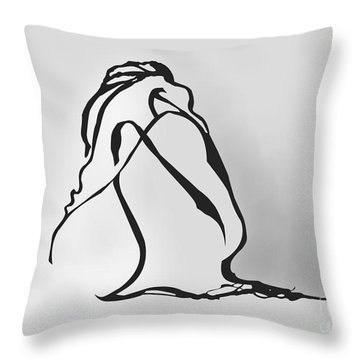 Hidden... Throw Pillow