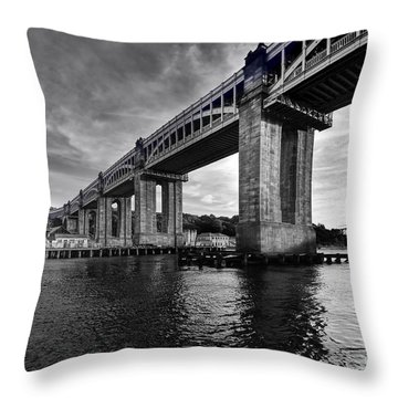High Level Bridge Throw Pillow