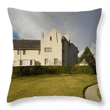 Throw Pillow featuring the photograph Hill House Helensburgh by Stephen Taylor