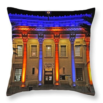 Hippodrome In Color Throw Pillow
