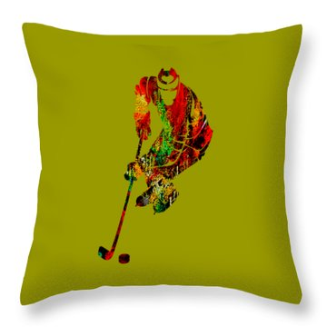 Hockey Collection Throw Pillow
