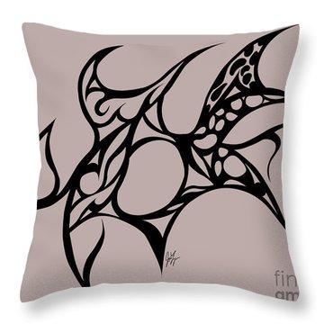 Hole Throw Pillow by Jamie Lynn
