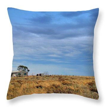 Throw Pillow featuring the photograph Homestead by Tim Nichols