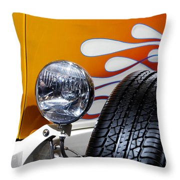 Hot Rod Ford Hi-boy Coupe 1932 Throw Pillow by Oleksiy Maksymenko