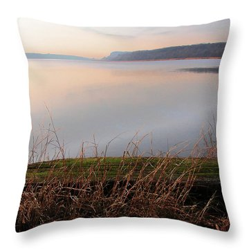 Hudson River Vista Throw Pillow