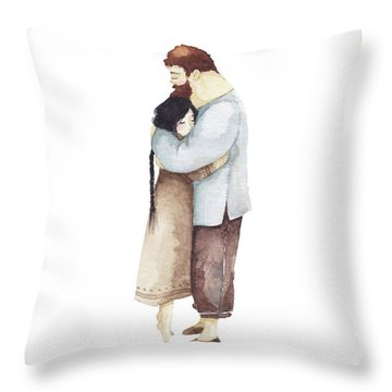Illustrator Throw Pillows