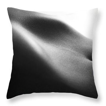 Human Form Abstract Body Part Throw Pillow