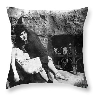 Hunchback Of Notre Dame Throw Pillow by Granger