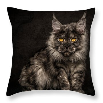 Hunting Mode Throw Pillow
