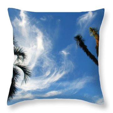 @huntington Gardens Los Angeles Throw Pillow