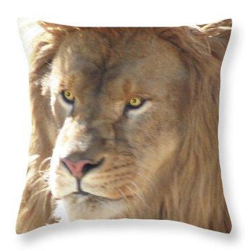 I Am .. The Lion Throw Pillow