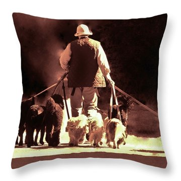 I Love This Job Throw Pillow