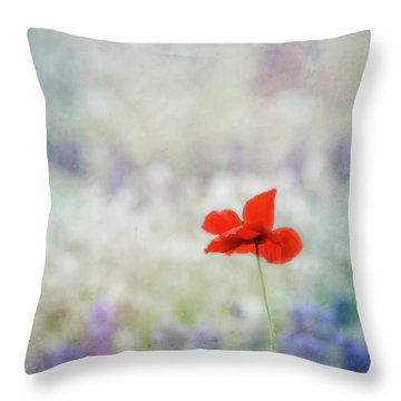 Throw Pillow featuring the photograph I Wish by Robin Dickinson