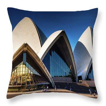 Iconic Sydney Opera House Throw Pillow
