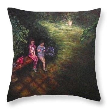 If Cinderella Had A Garden Throw Pillow