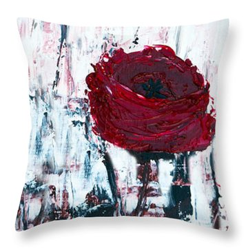 Impressionist Floral B8516 Throw Pillow