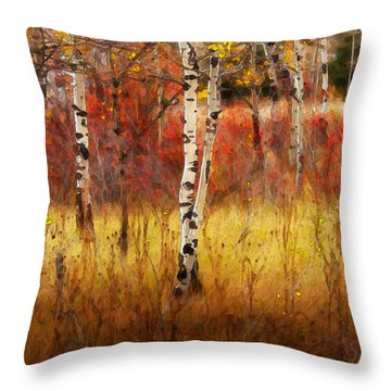 In The Grove Throw Pillow