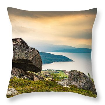 In The North Throw Pillow