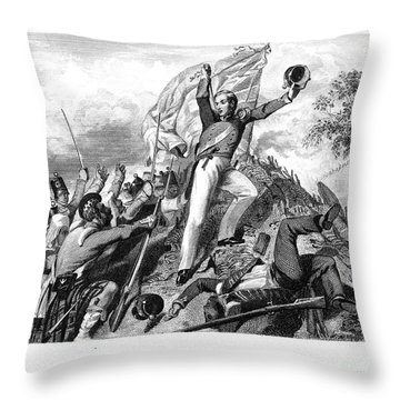 India: Sepoy Rebellion, 1857 Throw Pillow by Granger