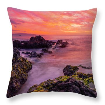 Infinity Throw Pillow by James Roemmling
