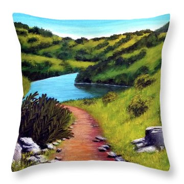 Inspiration Point Throw Pillow