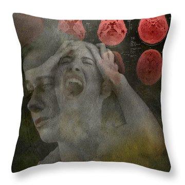 Intense Pain Throw Pillow