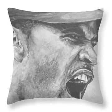 Intensity Pujols Throw Pillow