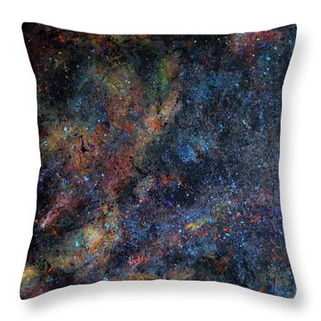 Interstellar 2 Throw Pillow