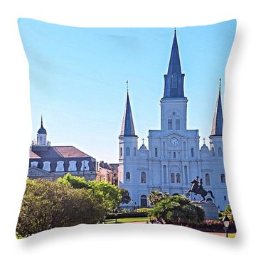 Is This Photo A #classic Or A #cliche? Throw Pillow