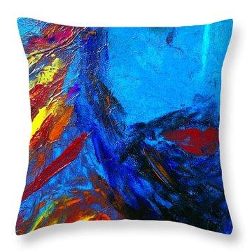 Ishi Throw Pillow by Deborah Montana