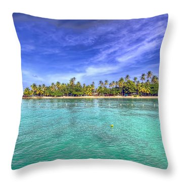 Island In The Sun Throw Pillow