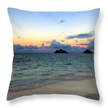 Island Romance Throw Pillow by Kelly Wade