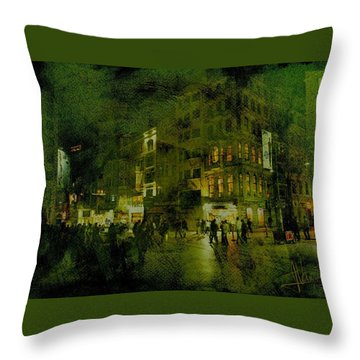 Throw Pillow featuring the photograph Istanbul by Jim Vance