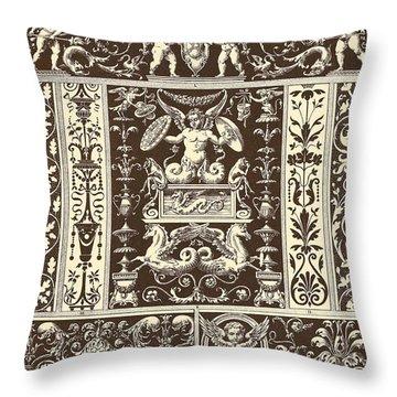 Italian Renaissance Throw Pillow by Italian School