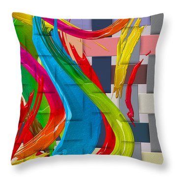 It's A Virgo - The End Of Summer  Throw Pillow by Serge Averbukh