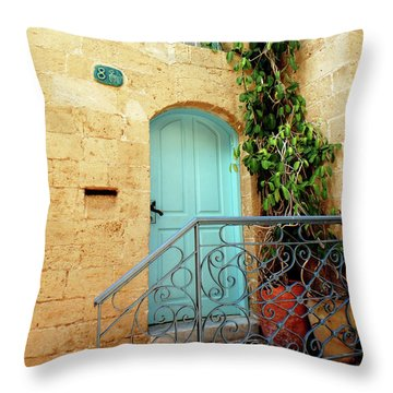 Jaffa-israel Throw Pillow