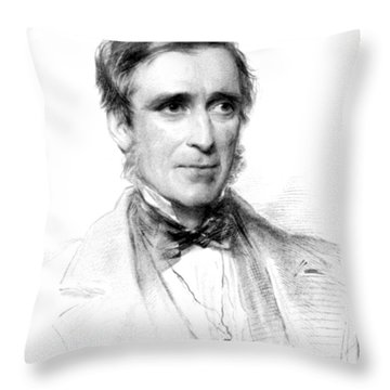 James Paget, English Surgeon Throw Pillow by Science Source