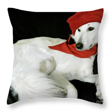 Jane Anne Throw Pillow